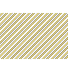 gold stripes elegant seamless pattern vector image