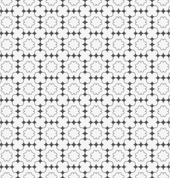Gray ornament with dark gray pointy squares and vector