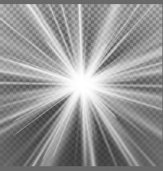 Light flare special effect abstract image of vector