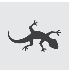 Lizard icon vector