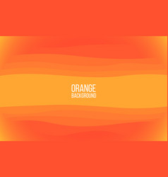 orange background bright sunny layers with vector image