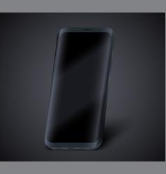 Smartphone presentation mockup vector