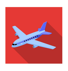 aircraft for transportation of a large number of vector image