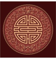 Oriental Feng Shui Pattern vector image vector image