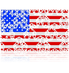 United States stars vector image