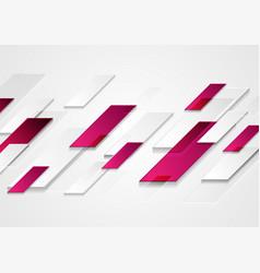 bright purple grey abstract geometric tech vector image