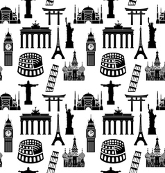 City pattern2 vector image