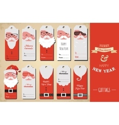 collection cute ready to use christmas gift vector image