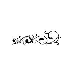 decorative art icon design template vector image