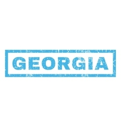 Georgia Rubber Stamp vector image