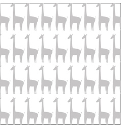 Giraffe cartoon pattern icon vector