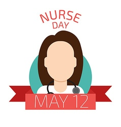 Nurse Day vector