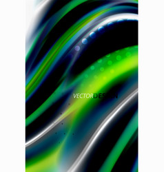 rainbow color waves blurred abstract vector image