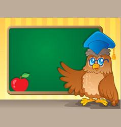 schoolboard theme image 2 vector image