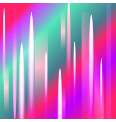 Abstract northern lights background with light pea vector image vector image