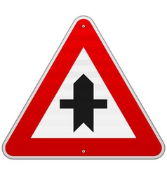 Crossroads Sign vector image vector image