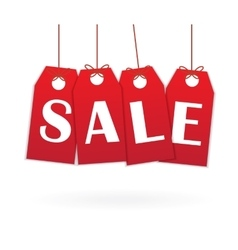 Labels with text Sale vector image