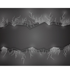 Background with glass vector image