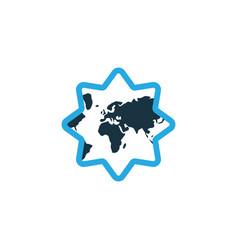 islamic colorful icon symbol premium quality vector image vector image