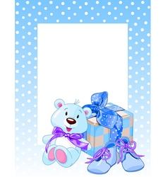 Blue Bear vector image