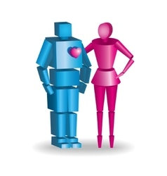 3d couple in fully scalable vector
