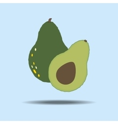 Avocado Fruit Icon vector