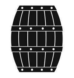 Barrel icon simple style vector