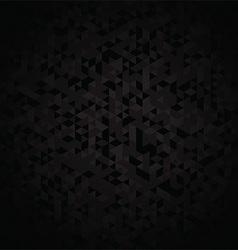 Dark geometric background vector