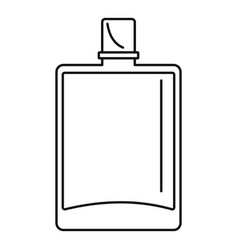 lime perfume icon outline style vector image
