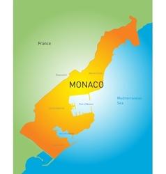 Monako vector