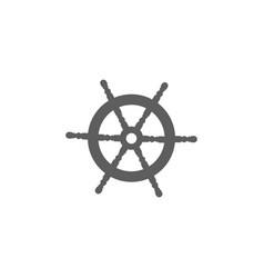 rudder icon icon solid vector image