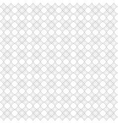 Seamless abstract floral pattern white and light vector