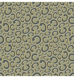 Seamless recycle background pattern vector
