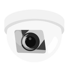 Security circuit closed camera vector