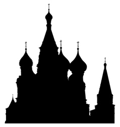 st basils cathedral vector image