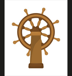 The ship wheel vector