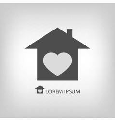 Sweet home logo vector image