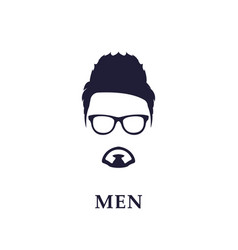 young and fashion man vector image