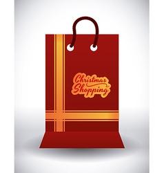 christmas sale design vector image vector image