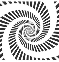 Abstract hypnotic spiral vector