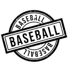 Baseball rubber stamp vector
