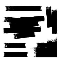 Black paint background vector