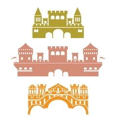 castle2 vector image