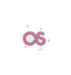 lastfm icon design vector image