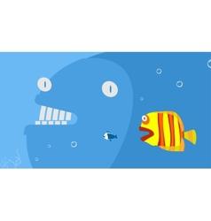 Marine predators vector image vector image