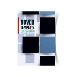 report cover design5 vector image