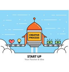 Start up vector
