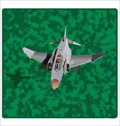 American plane copy vector image