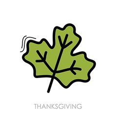 Autumn Leaves maple icon vector