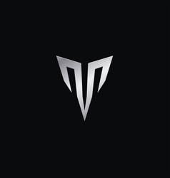 Creative luxury letter t logo concept design vector